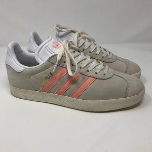 Adidas Originals Gazelle Chalk White/Still Breeze